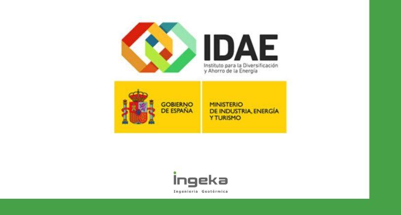 1 Programa Geotcasa energia geotérmica Idae ya formamos parte de geotcasa Ingeka ingenieria geotermica euskadi navarra cantabria